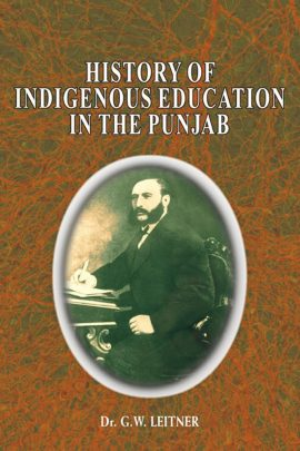 History Of Indigenous Education In The Punjab :